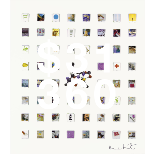 Damien Hirst, Matchbook Collection Collage