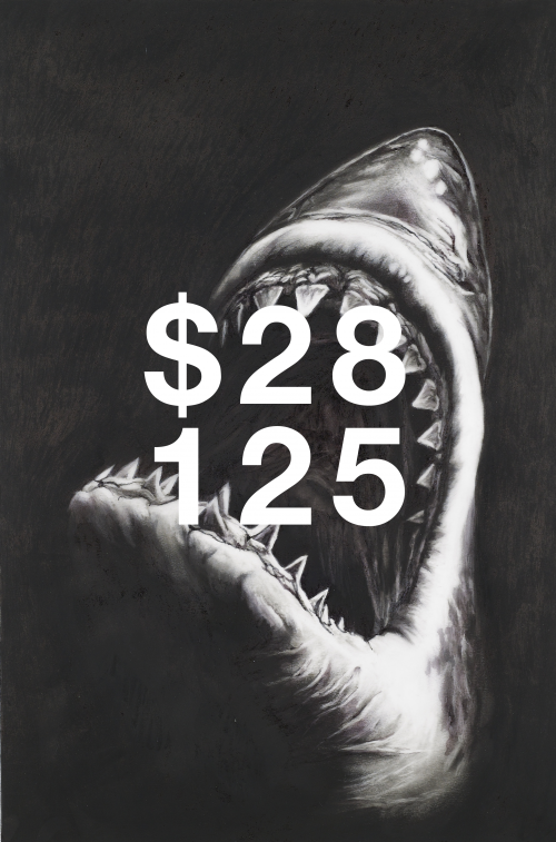 Robert Longo, Study For Shark 7