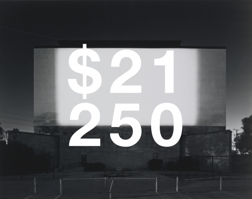 Hiroshi Sugimoto, Centinela Drive-in, Los Angeles (#707)