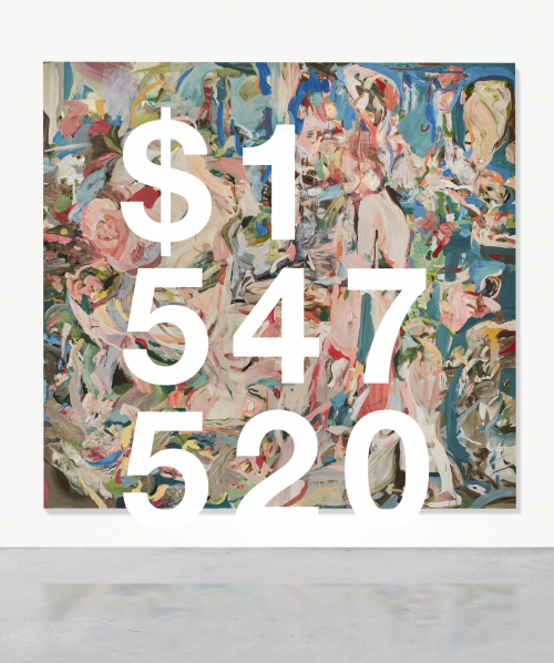 Cecily Brown, A Swan Comforting A Snake