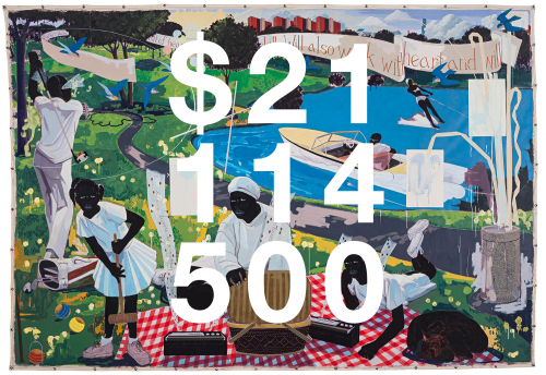 Kerry James Marshall, Past Times