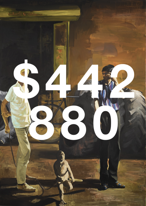 Eric Fischl, The Tire Store