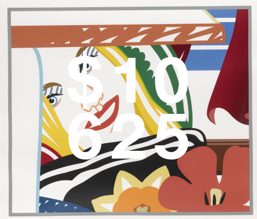 Tom Wesselmann, Bedroom Face #41