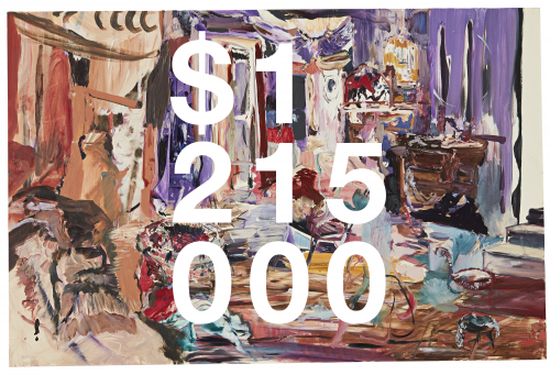 Cecily Brown, Hangover Square