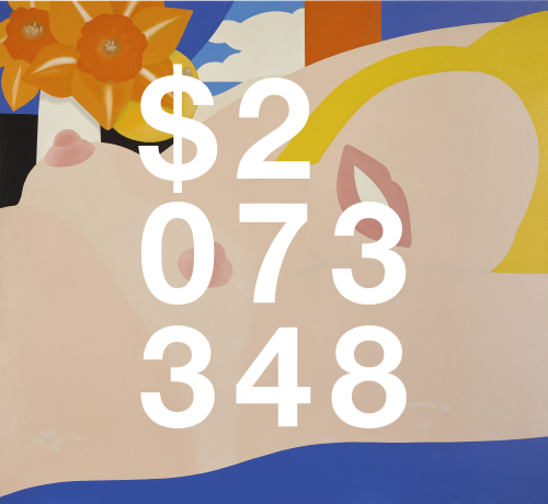 Tom Wesselmann, Great American Nude #79