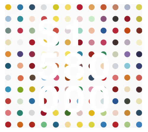 Damien Hirst, Aldosterone 18, 21-diacetate-3-(0-carboxymethyl)oxime:bsa