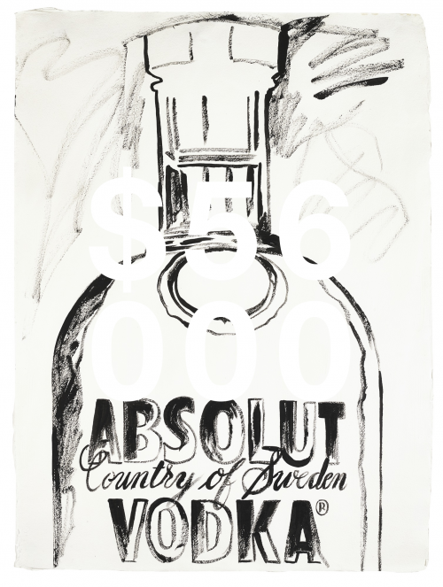 Andy Warhol, Absolut Vodka