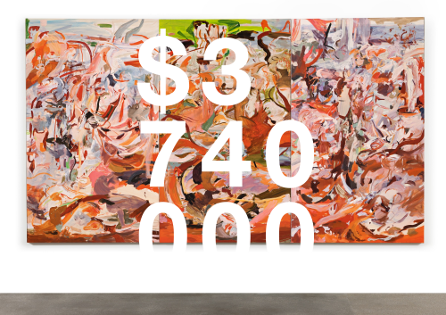 Cecily Brown, Have You Not Known, Have You Not Heard [triptych]
