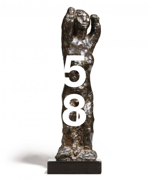 Jean Fautrier, Grand Nu Debout